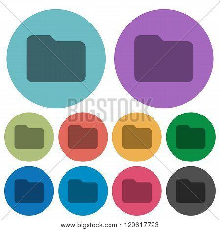 Color Folder Flat Icons