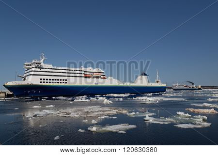 Ferry In North Sydney Nova Scotia