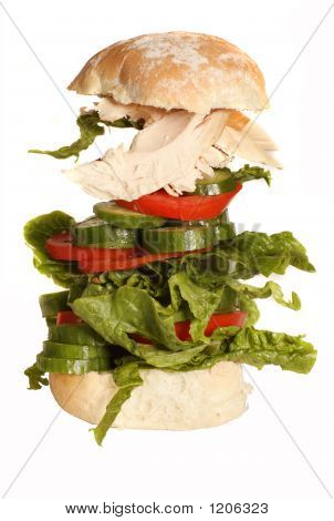 Heroes' Chicken Salad Roll