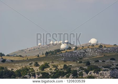 Crimean observatory on the plateau