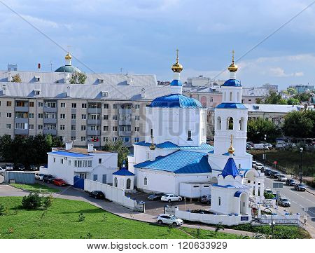 Church Of The Nativity Of The Blessed Virgin Mary (paraskeva Friday) In Kazan
