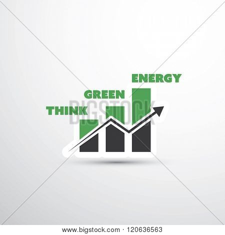 Green Energy Concept Design With Diagram