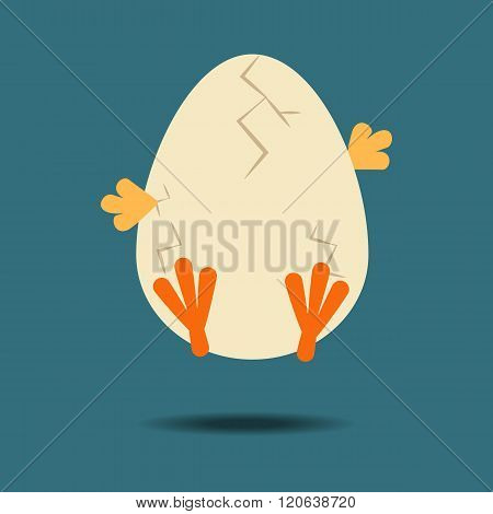 Easter Chicken Icon