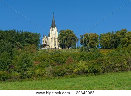 Basilica of the Visitation of the Blessed Virgin Mary in Levoca, Slovakia. Europe