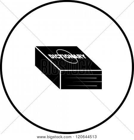 dictionary symbol