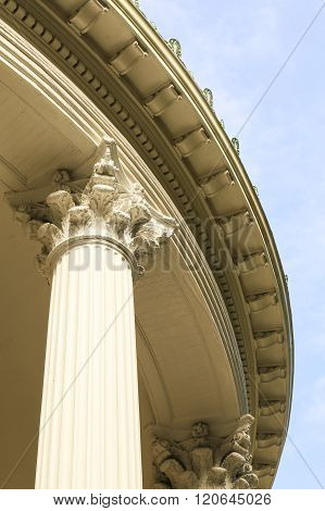 Architectural Elements of the Rounded Porch