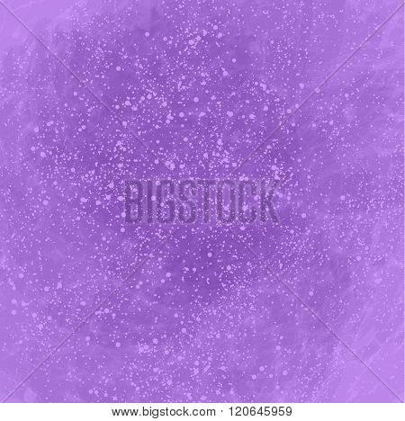 Purple Abstract Background With Lots Of Bubbles