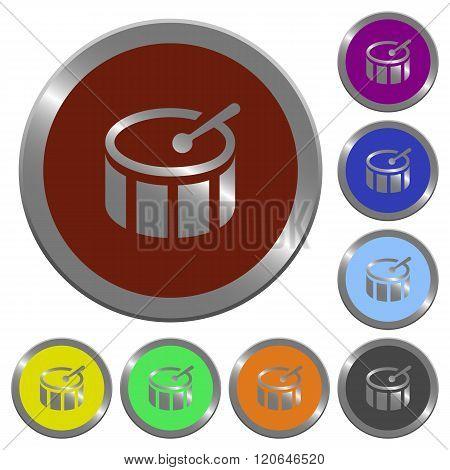 Color Drum Buttons