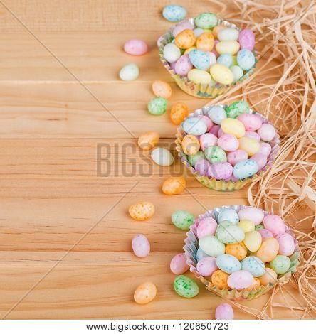 Speckled Easter Jelly Beans
