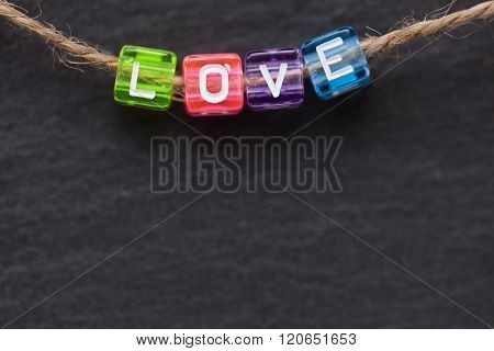 Love Word Concept