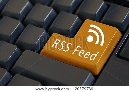 Word 'rss Feed' On Enter Keyboard