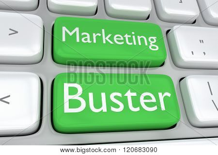 Marketing Buster Concept