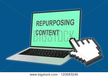 Repurposing Content Concept