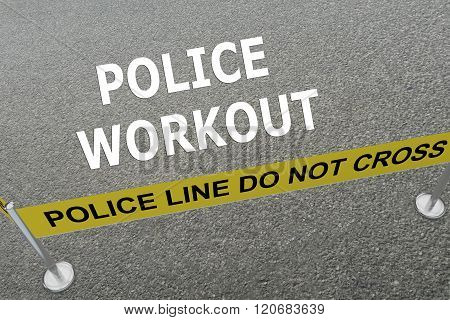 Police Workout Concept