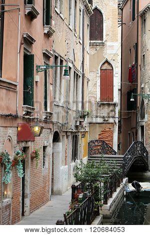 Picturesque Urban Scenery Of Venice