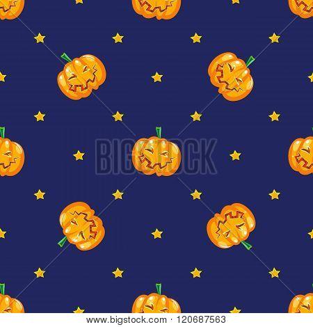 Funny Ripe Pumpkin