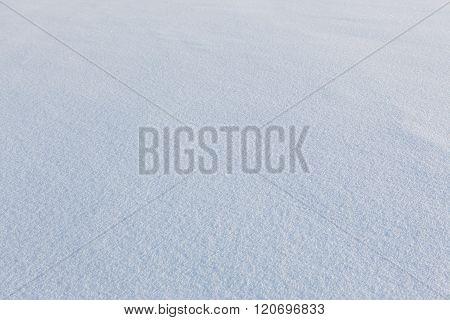 Scenic snow texture background