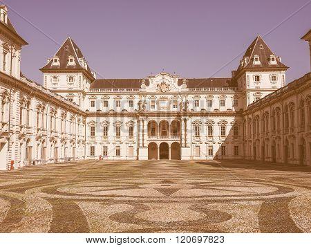 Castello Del Valentino In Turin Vintage