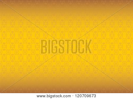 Luxurious Golden Textured Vector Background