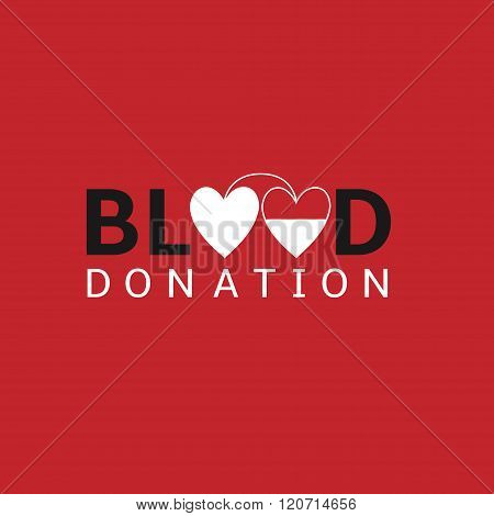 Blood donation logo