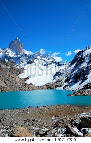Laguna de los Tres Trek in el Chaltén
