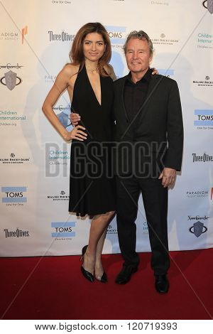 MALIBU - MAR 5: Blanca Blanco, John Savage at the Children International Charity's 'Share The Love Around The World' Fundraiser at Rocky Oaks Malibu on March 5, 2016 in Malibu, California