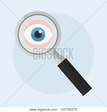 Search Vector Illustration