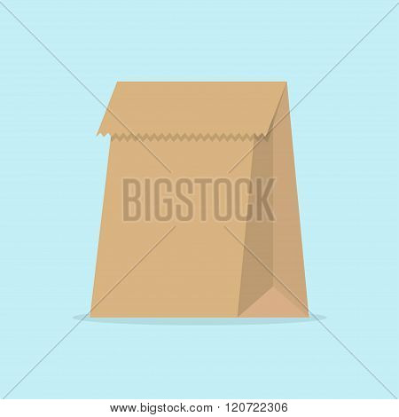 Paper Bag Vector Illustration