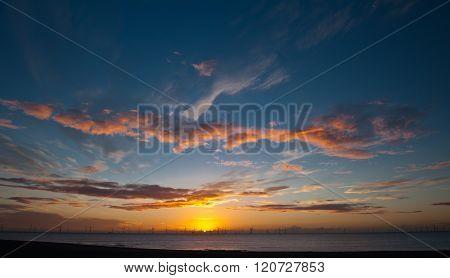 Sunrise in Skegness