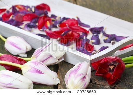 Dried Flowers, Potpourri Is Made