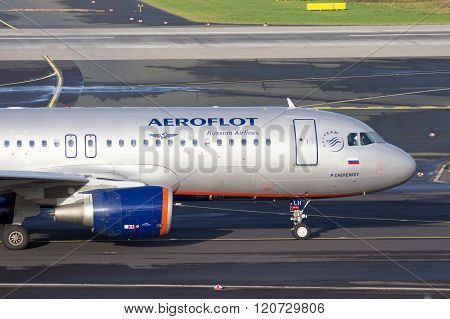 Aeroflot - Russian Airlines Airbus A320