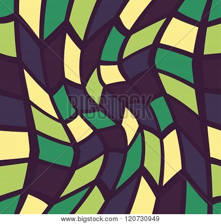 Vector modern seamless colorful geometry pattern trippy color abstract