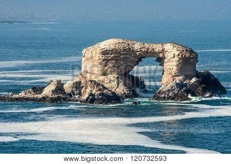 La Portada Rock Formation, Atacama, Chile