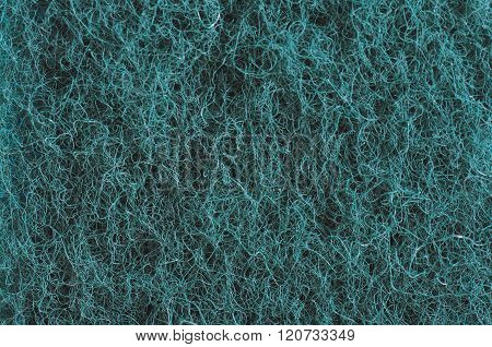 Polymer scouring pad