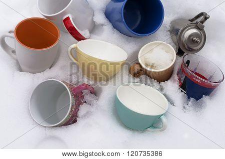 Various Tea Cups