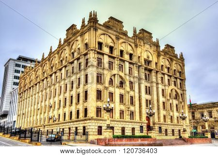 Ministry of internal affairs building in Baku
