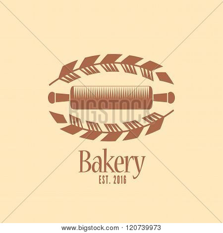 Vector logo, design element for bakery