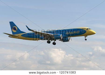 Embraer E190 Jet Aircraft