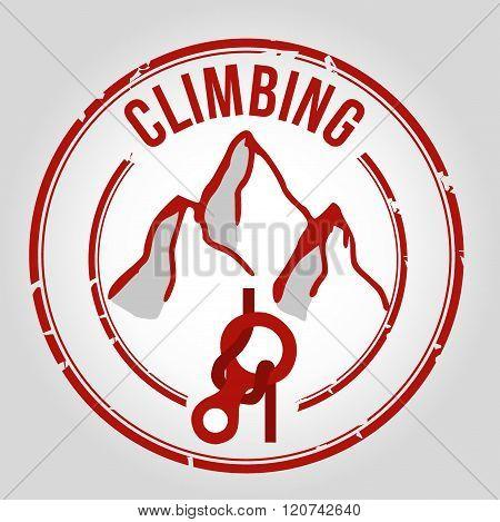 Climbing stamp