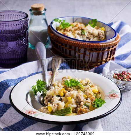 Casserole With Rice