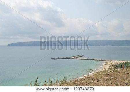 Beautiful, peaceful Seascape  and clear sky