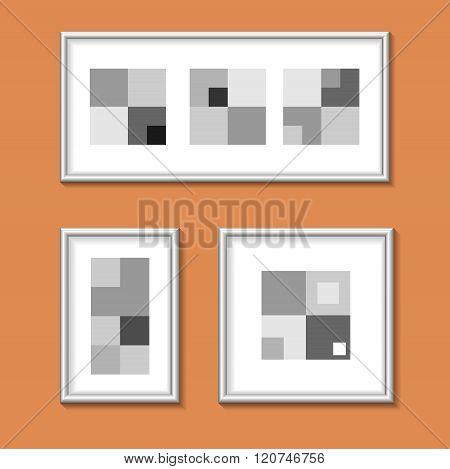 Paintings In Metal Frames