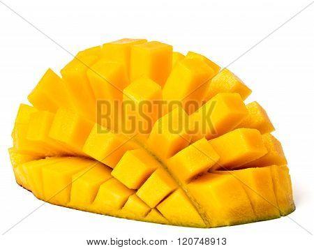 Mango Hedgehog Cut