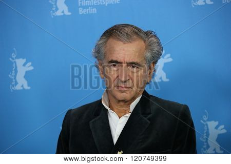 Bernard-Henri Levy attends the 'Death in Sarajevo' (Smrt u Sarajevu - Mort a Sarajevo) photo call during the 66th Berlinale Film Festival  at  Hyatt Hotel on February 15, 2016 in Berlin, Germany.