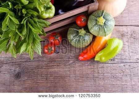 Fresh Vegetables In A Box