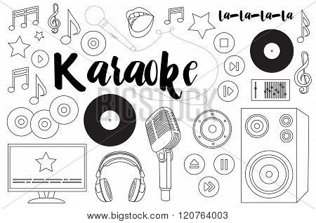 Theme of karaoke