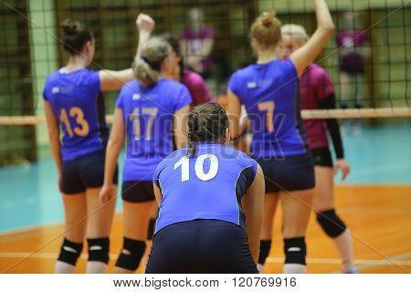 Episode Of Women's Volleyball Match