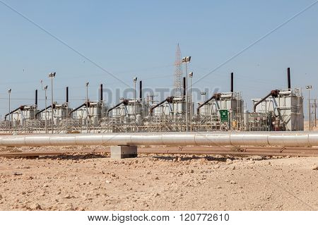 Petrochemical Facilities In The Desert