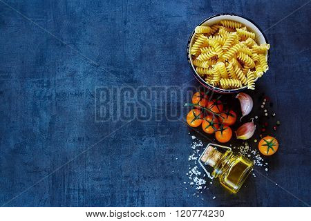 Dry Pasta With Olive Oil