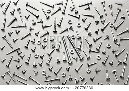 A lot of bolts and screws